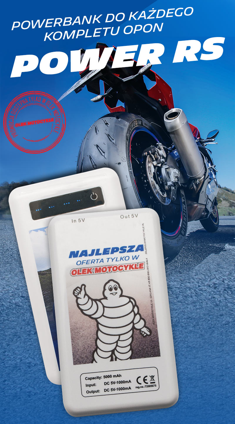 powerbank michelin power rs olek motocykle